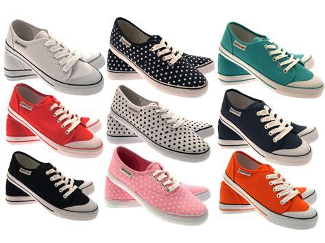ebay shoes for womens dunlop plimsoles plimsolls pumps shoes trainers canvas