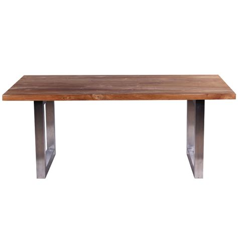 Industrial Style Dining Table Dining Table Reclaimed Teak