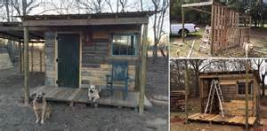 Tumbleweed Homes Interior Off Grid Tiny Cabin Made From Pallets And Reclaimed Lumber