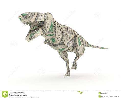 Tyrannosaurus Origami - origami tyrannosaurus rex stock illustration image of