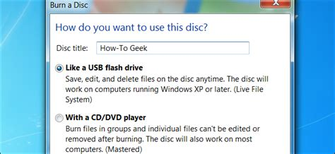 geek to live how to format your hard drive and install htg explains live file system vs mastered disc formats