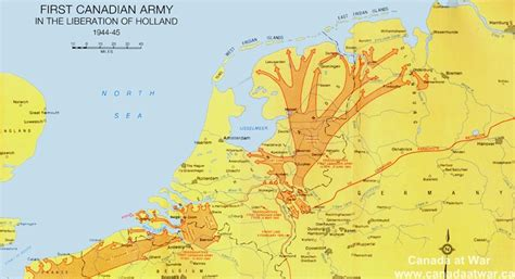map netherlands during ww2 wwii liberation of the netherlands canada at war