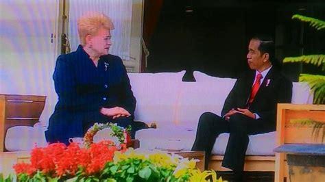 veranda talk gelar veranda talk jokowi dan presiden lithuania