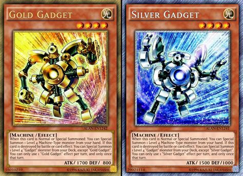 silver link anime list gold silver gadgets deck profile