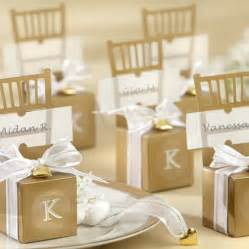 And Gold Wedding Favors unxia modern wedding favor ideas