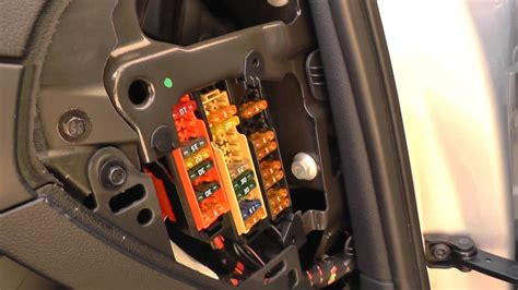 Audi A4 B8 Fuse Box Location 2007 To 2015 Youtube