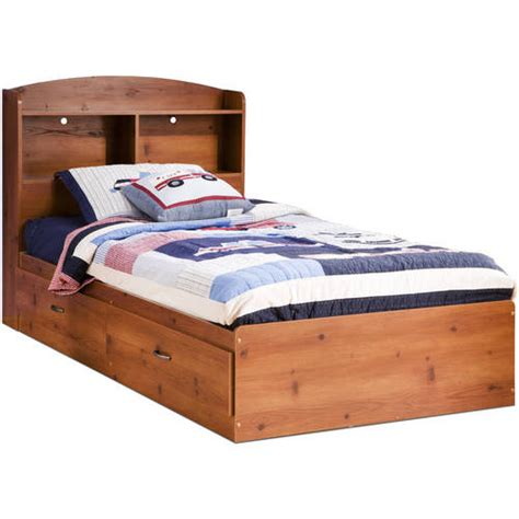 twin bed bookcase headboard south shore logik twin mates bed bookcase headboard