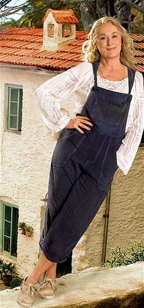 Mamamia Overall meryl streep during the filming of quot mamma quot in