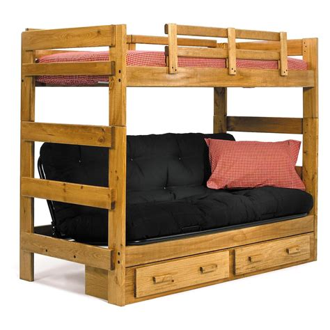 Futon Bunk Bed With Stairs by Futon Bunk Bed Plans