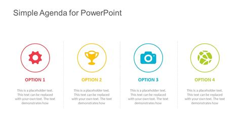 Powerpoint Agenda Template by Simple Agenda Template For Powerpoint
