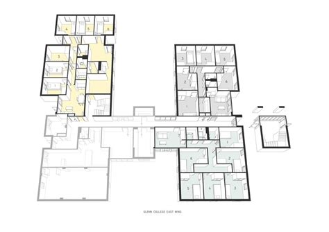 East Wing Floor Plan Glenn College Bundoora Melbourne Residence Best Price Guarantee