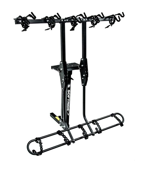 Racks Hours by Softride Hang5 5 Bike Rack For 2 Quot Hitches Tilting