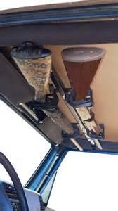 draw overhead gun rack for jeep wrangler