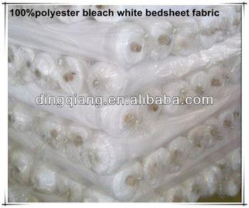 how to bleach a white comforter polyester woven bleach white solid colour bedsheet fabric
