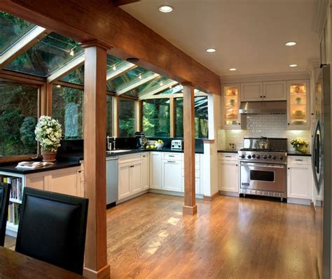 extension kitchen ideas house designs featuring glass extensions enjoy nature
