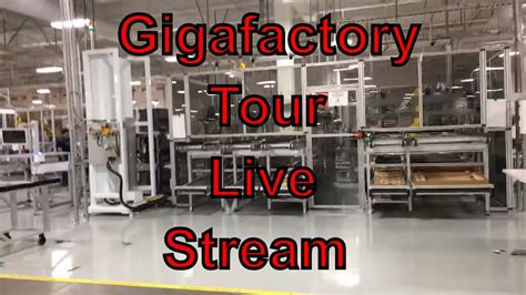 tesla gigafactory factory tour live 2016 complete