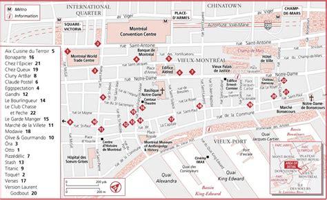printable map montreal printable map of montreal printable maps