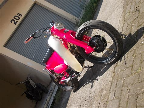 Jari Jari Depan All Bebek Yamaha Original Yamaha modifikasi honda astrea ala streetcub custom by bmc