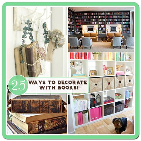 home decorating books 25 ways to decorate with books free bookplate printable