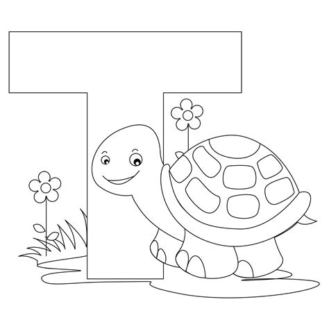 coloring pages for adults letter t free printable alphabet coloring pages for kids best