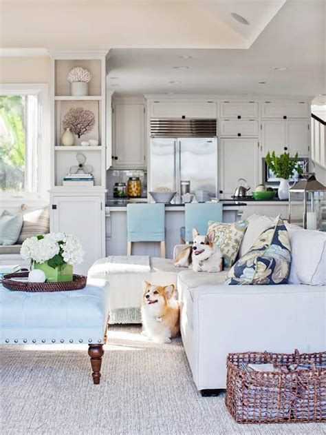Coastal Livingroom | i want to live by the sea coastal inspired style the inspired room