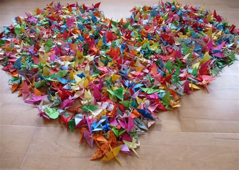 How To Make 1000 Paper Cranes - 1000 paper cranes magical daydream