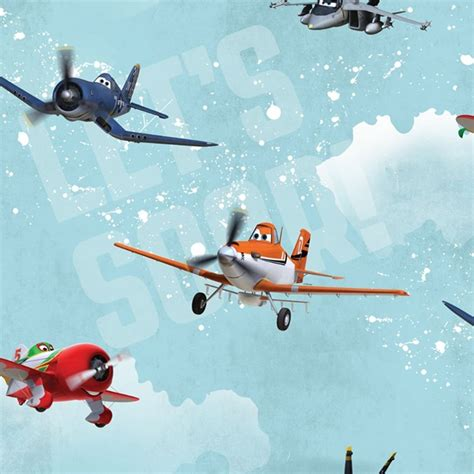 Airplane Wall Murals graham amp brown disney pixar planes film movie childrens