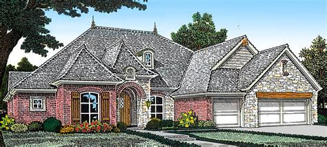 vaulted great room fm architectural designs