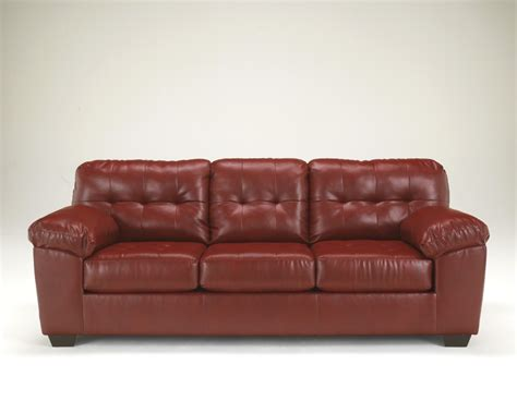 The Leather Factory Sofa by Alliston Durablend Salsa Sofa 2010038 Leather