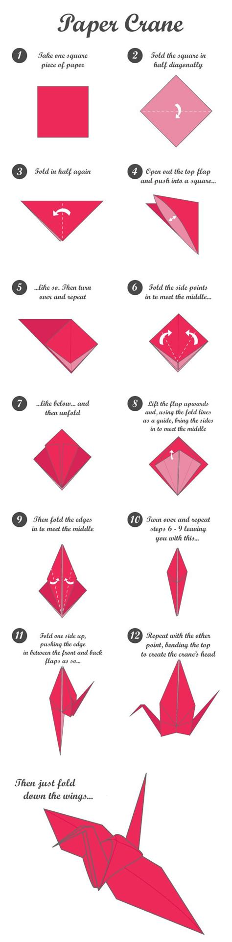 Origami Crane For - paper crane tutorial crafts