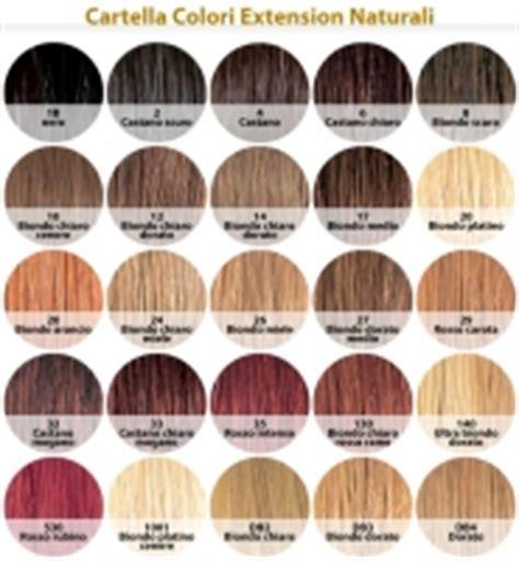 tavola dei colori per capelli extension ciocche extension capelli naturali colori