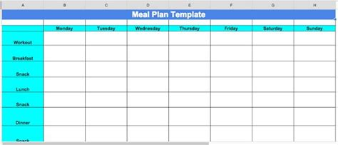 Cize Nutrition Planning Tips And Meal Plan Template Cize Pinterest Nutrition Meals And Precision Nutrition Meal Plan Template