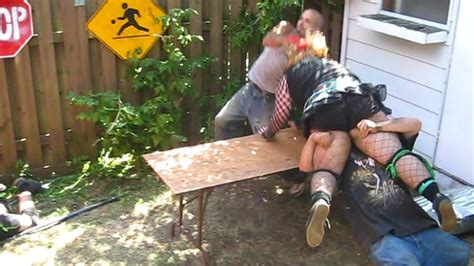 chw backyard vs team ftw chw tag team chionship backyard wrestling youtube