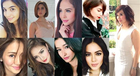 filipino actors hairstyles choose from these celebrity hairstyles for your mid year