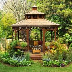 Backyard Metal Gazebos by 22 Beautiful Metal Gazebo And Wooden Gazebo Designs