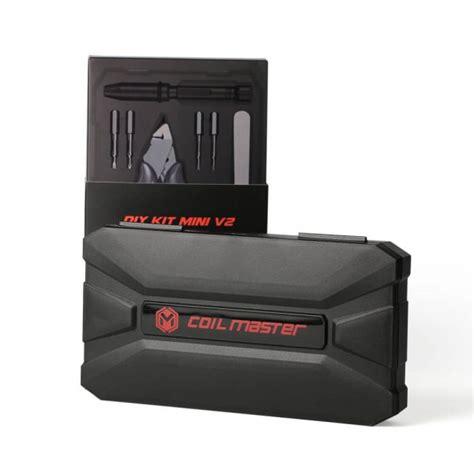 Coil Master Diy Kit V2 Paket Untuk Coiling Rda Rta Rdta coil master diy kit mini v2 coil master