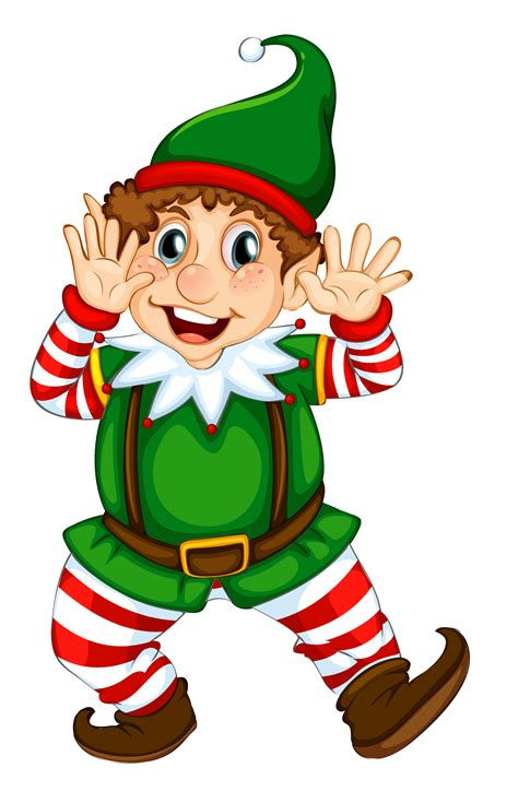 images of christmas elves christmas clipart transparent background pencil and in