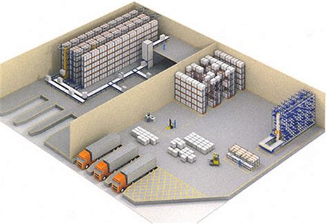 warehouse layout models warehouse design and layout 6 basic factors mecalux com