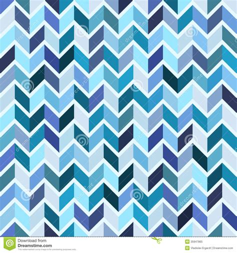 blue geometric pattern seamless geometric pattern blue mosaic royalty free stock