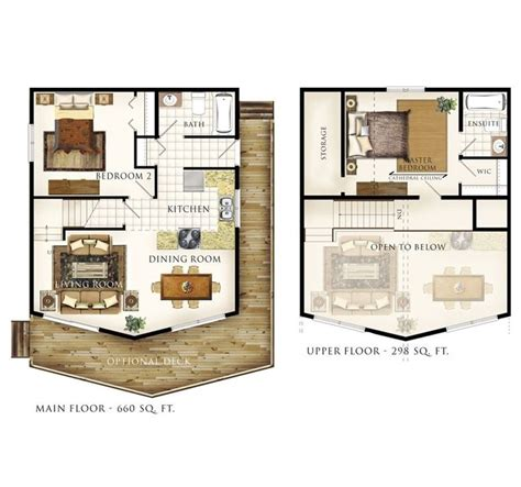 small cabin with loft floor plans 12 best images about tiny house floor plans double wide
