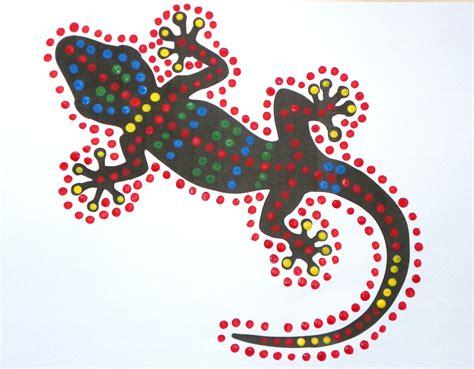 gecko dot paintings craft n home