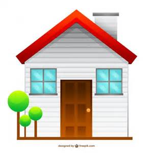 isolated house drawing free vector 123freevectors