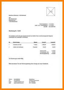 Muster Rechnung Schreiben Privat 5 Rechnung Schreiben Privat Muster Sponsorshipletterr