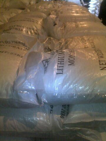 Hai Kou Pills Limited lithium hydroxide monohydrate battery grade in haikou hainan hainan huarong chemical co ltd