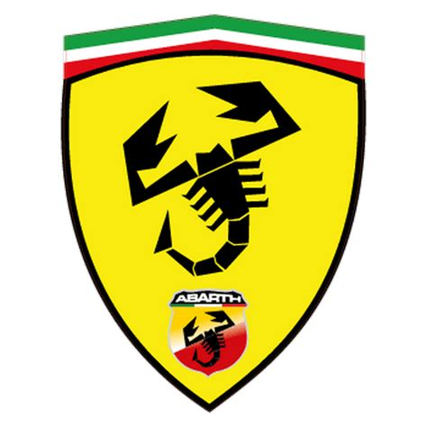 Abarth Aufkleber by Sticker Fiat Abarth Ferrari Ecusson
