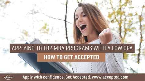 When To Apply To Mba Programs by Applying To Top Mba Programs With A Low Gpa The Gmat Club