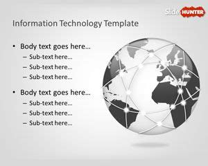 Free Information Technology Powerpoint Template Information Technology Ppt Templates