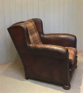 French Leather Armchair Antiques Atlas