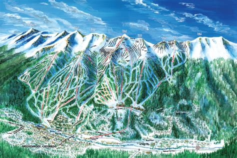 breckenridge map breckenridge ski resort skimap org