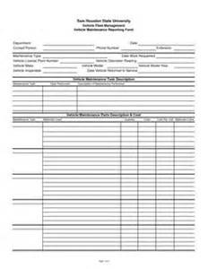 tip sheet template vehicle maintenance log sheet template car maintenance